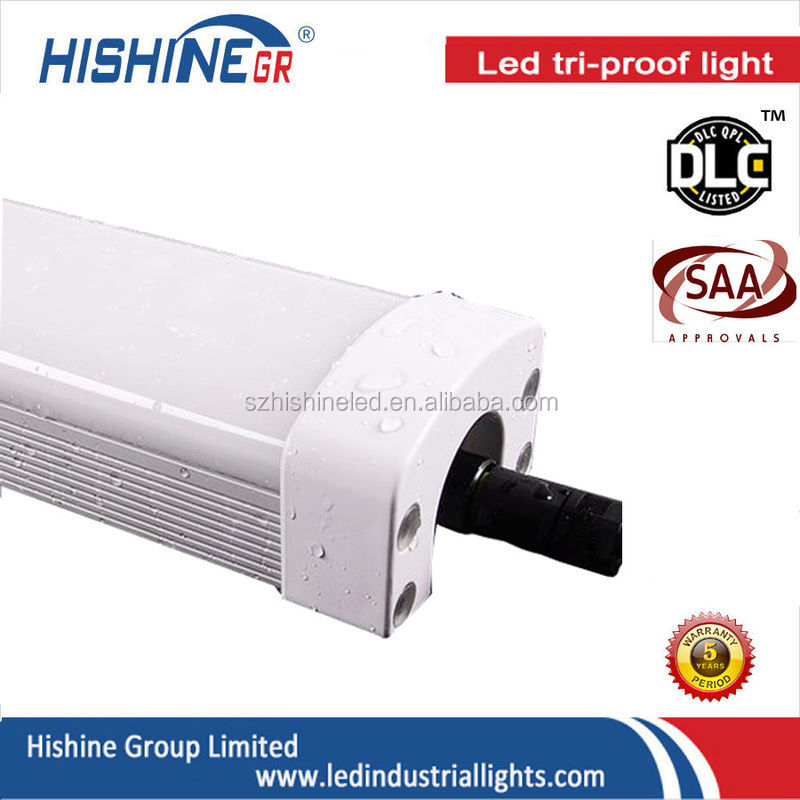 80W ip66 led tri proof tube light linear batten tri proof led explosion proof light 1500mm