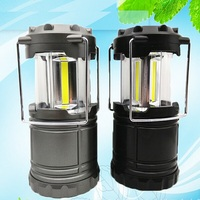 3 AA dry battery 3W COB led rechargeable led lantern