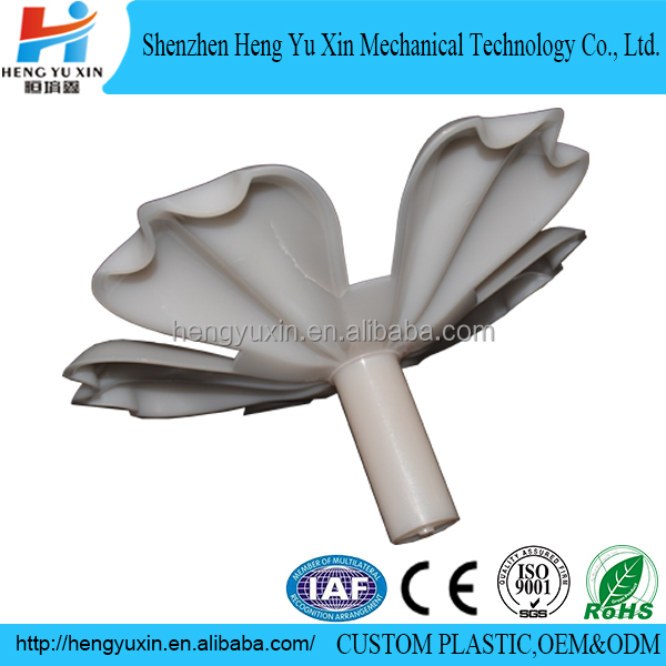 plastic orchid flower factory customized plastic flowers