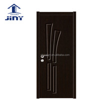 2017 sell well popular pvc laminated flush single leaf door designs catalogue from Jiangshan city