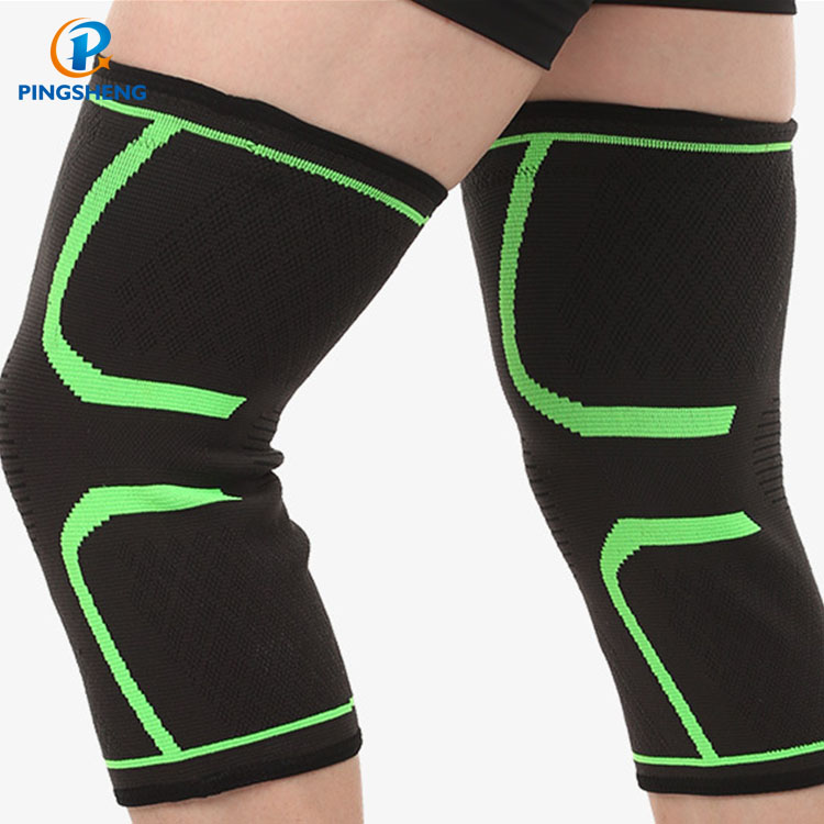 Best Compression Review Elastic Football Pad Image Adjustable <strong>Protective</strong> Basketball Knee Sleeve With Logo