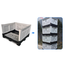 HDPE heavy duty 720L Australian folding pallet boxes