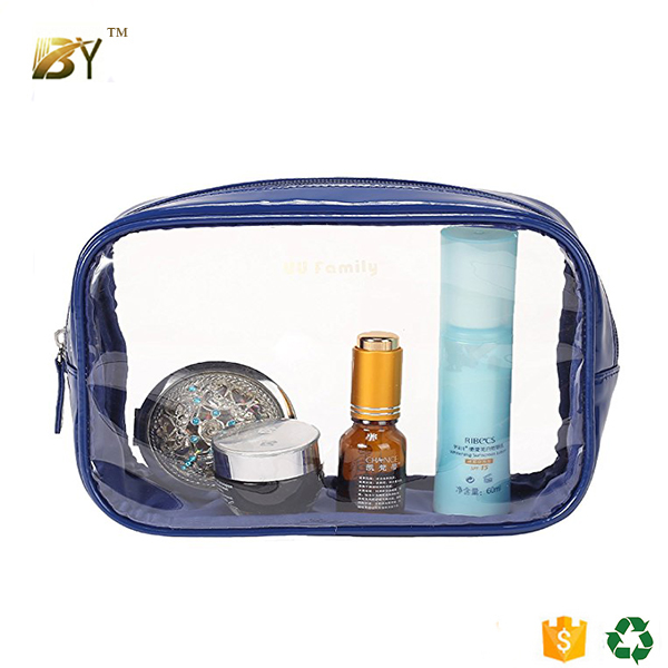 New design techniques new design plastic transparent pvc cosmetic bags for women