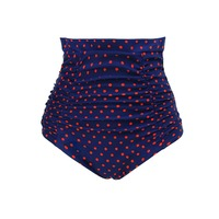 Wholesale Amazon Market S to 3XL Women's Retro High Waisted Bikini Bottom Swim Briefs