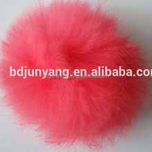 raccoon fur pompom/craft pom poms wholesale/hanging decorative flower ball