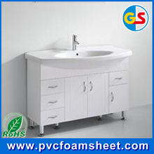 pure white PVC foam board of high hardness