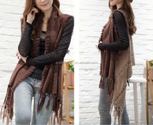 wholesale retail ladies fur bohemian cashmere ponchos shawls