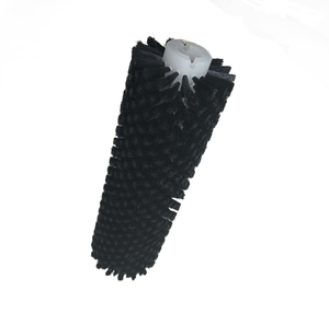 Nylon Bristle Round Industrial Food Cleaning Brush /Roller Cleaning Brush