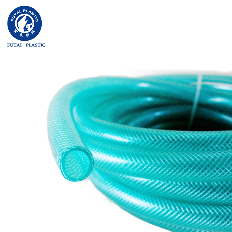 high strength and high quality no smell no toxic pvc fiber netting reinforced hose pipe for water supply