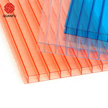 Raw Material Solar Panel Polycarbonate Transparent Roofing Sheet