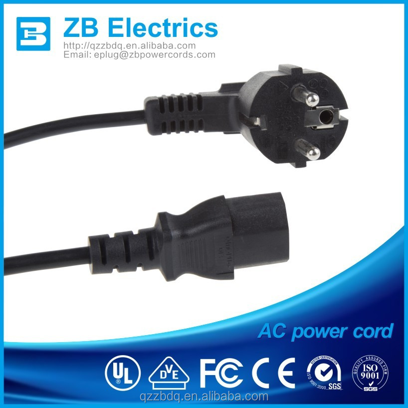 230 volt power cord with VDE approval