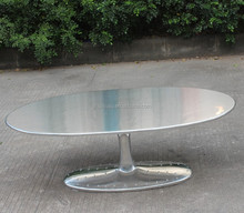 replica tulip coffee table/black marble coffee tables