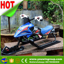 Chinese mobile Snow Sled, snow ski bike, electric snow scooter for sale