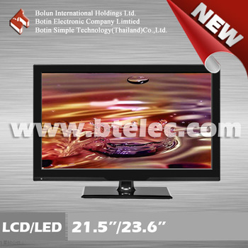 Factory directly wide screen 23.6 inch LED TV with refurbished panel
