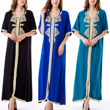 Moroccan Kaftan Jilbab Islamic Clothing Wholesale Women's long Dress