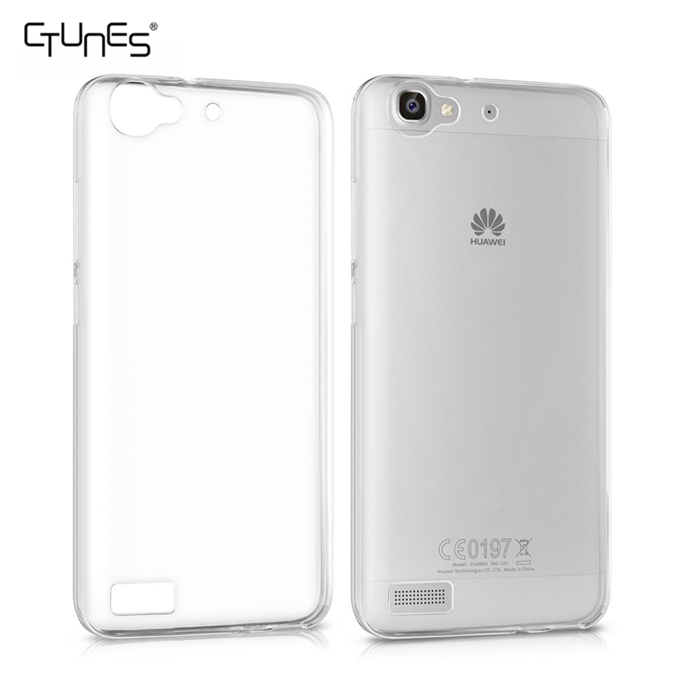 For Huawei GR3 Case,Soft Gel TPU Transparent Clear Protective Cover Case For Huawei GR3 / P8 Lite