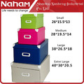 NAHAM House Collapsible Cardboard Printed Paper Stackable containers