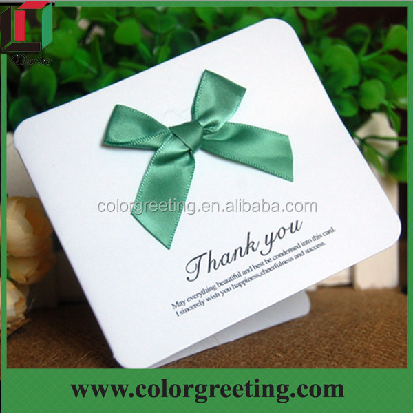 handmade good quality thank you card hot sale colorful folding new year card gift cards for christmas's day