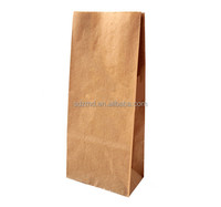 Brown paper bag/ Kraft paper bag/food paper packaging bag