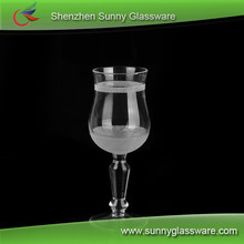 wholesale creative long-stemmed glass candle holder cheap