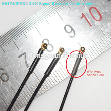 New Arrival 2.4Ghz bluetooth Model Aircraft Control Antenna High Sensivity MHF4/IPEX4 RF Jumper Cable With Heat Shrink Tube