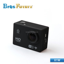 2015 New Private X1W mini wifi Sports Cam portable 1080 30fps HD, 1.5-inch 170A Lens action video camera sports dvs
