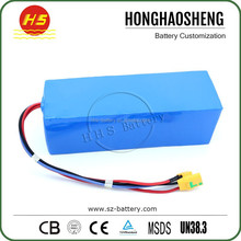 OEM ODM good quality 48V 10Ah Electric Scooters Lithium ion battery pack for skateboards unicycles