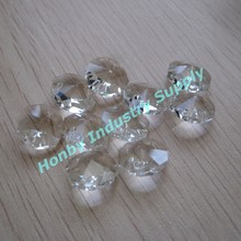Clear Color 18 mm Octagon contas de cristal