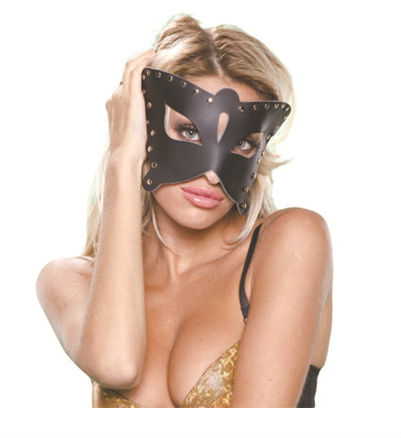 Handcraft Leather Sex Products Mask