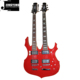 Wholesale Factory Direct Sale Customization Sharp edges and corners Double Neck Electric Guitars