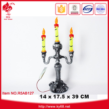 Halloween decoration electric candle lamp for halloween late night party