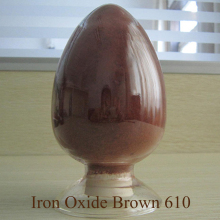 iron oxide pigment for concrete Iron Oxide Brown 610 for Rubber