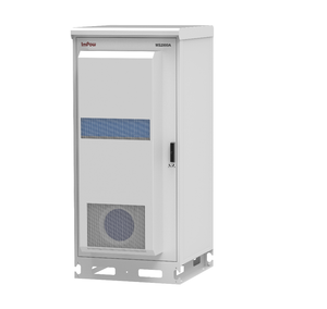 "2M Outdoor Telecom cabinet,Air Conditioner,Ventilation Fans, SNMP,Monitoring,19"" Rack"