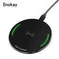 New Round Metal Qi Fast Wireless Charger Module For iPhone x