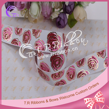 Factory High Quality Printed valentine Celebrate It Ribbon