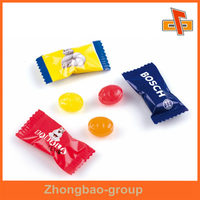 Small Transparent Bags For Candy / Colorful Printing Sachet For Fudge