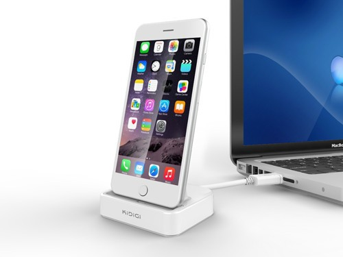 Case Compatible Sync & Charge Dock,cradle desktop docking charger for iPhone 5/iPhone 5s/iPhone 5c/iPhone 6/iPhone 6 Plus