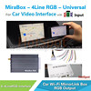 ODM/OEM service for WIFI Mirrorlink adapter mirror link interface for bmw