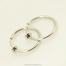 15 mm Wide Spring Fake Septum Jewelry Vibrating Nipple Piercing Jewelry