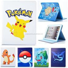 2017 Hot Sale Pika Pikachu Pokemons Pattern Hard Plastic Tablet Snap-On Case Cover For Apple iPad Mini 2 / Mini 3,