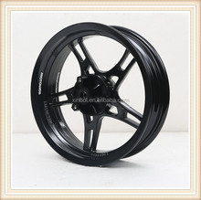 13 inch motorcycle alloy wheel rims, front wheel with disc brake