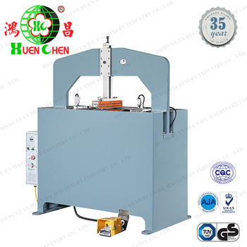 Folder cardboard and PVC automatic creasing machine
