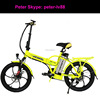 2018 new folding bicycle electric 350W motor e bike with mag wheel