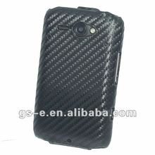 Carbon fiber cell phone case for HTC A810e/Chacha/G16