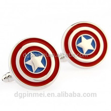 Brand new superhero novelty cufflinks with exquisite and mode design