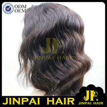 JP Hair Unprocessed Virgin Human Hair Top Closure Lace Wigs Lace Front Wigs