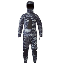 Spearfishing diving dry suit nylon diving dry suit dark blue diving suits for sailing