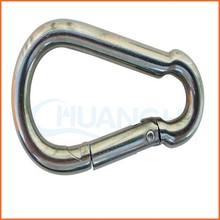 China supplier stainless carabiner spring parachute snap hooks