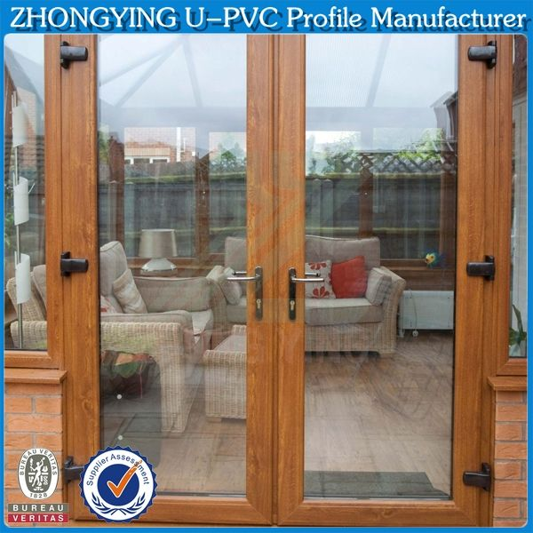 4 kinds of woodgrain color vinyl door covering