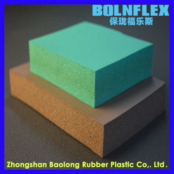 Closed Cell Heat Resistant Foam Rubber Insulation Sheet